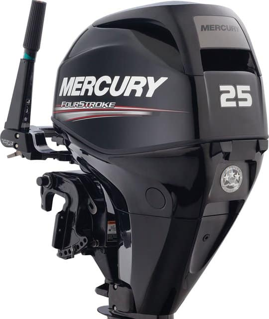 mercury outboard motors 25hp fourstroke