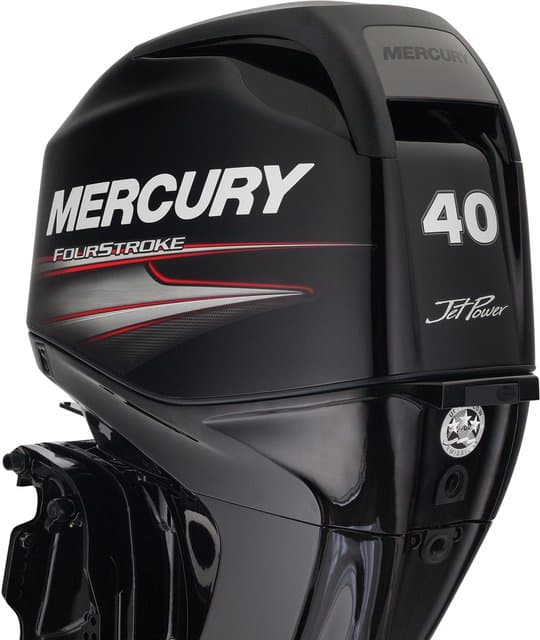 mercury outboard motors 40hp fourstroke jet