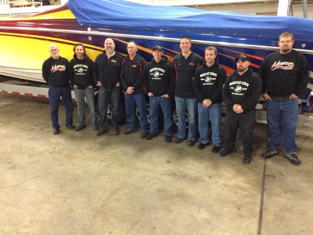 Advantage Marine Repair Team Photo